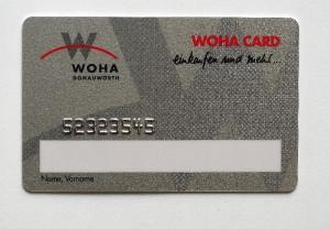 WOHA-Kunden Card